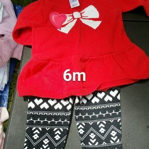 Carters holiday outfit set